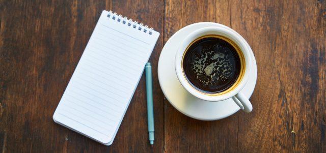 laminieren kaffee block