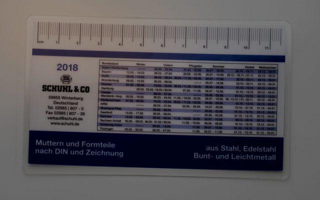 laminieren header karte visitenkarte paperguard