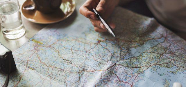 laminieren karte Landkarte paperguard