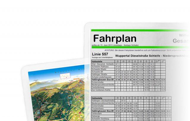 laminieren Fahrplan plan karte map paperguard