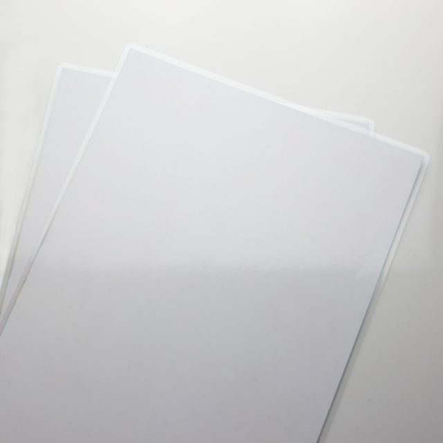 laminieren papiere weis Quadrat paperguard