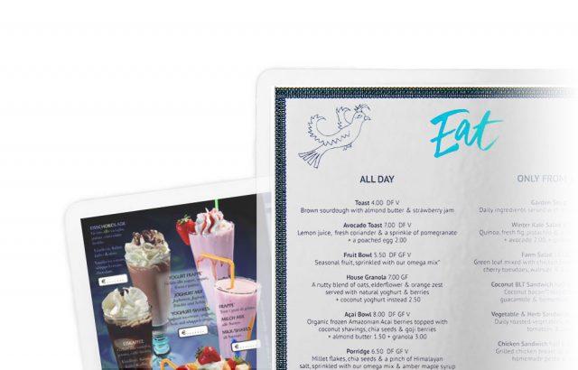 Laminiert Paperguard dpv Haubold Gastronomie