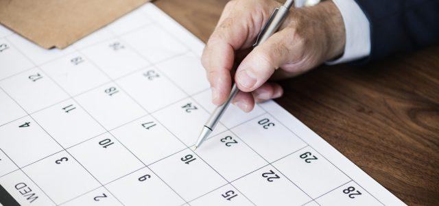Laminiert Paperguard dpv Haubold Kalender